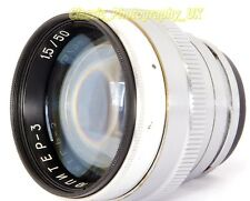 Jupiter-3 5cm 1:1.5 PRIME Lens based on ZEISS Sonnar 1.5/50mm Lens for Contax