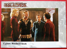 BATTLESTAR GALACTICA - Premiere Edition - Card #69 - Cylon Rendezvous