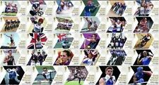 GB Olympic Gold Medal Team GB Full Set 29 Single Stamps MNH 2012