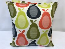 1 NEW  CUSHION COVER MADE IN ORLA KIELY FABRIC SCRIBBLE PEAR MULTI