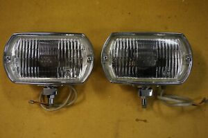 Lucas Square 8 fog lights as new, Shelby