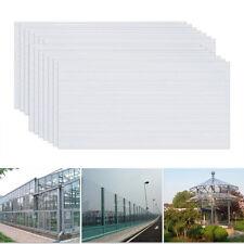 14x PC Doppelstegplatten Gewächshaus Platten 4mm Polycarbonat Hohlkammerplatte