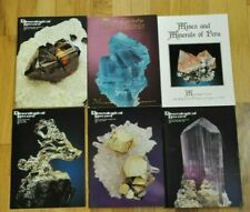 THE MINERALOGICAL RECORD  1997 Vol 28 6 issues the complete year