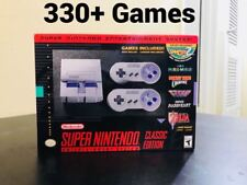 Super Nintendo SNES Classic Edition Mini Modded 300+ Best Games - Brand New