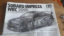 Maquette incomplète 1/24 tamiya subaru impreza WRC 2001 Sans carrosserie
