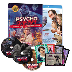 "PSYCHO GOREMAN Limited ""HUNKY BOY"" Ultimate Edition Blu-ray 