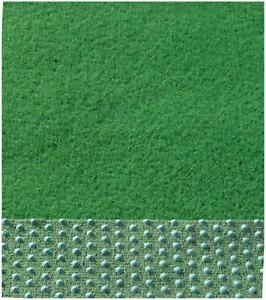 Rasenteppich Kunstrasen Balkon Terrasse mit Noppen 150 cm Breite Farbe grün