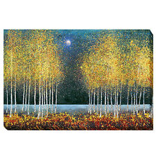 Blue Moon by Melissa Graves-Brown Gallery-Wrapped Canvas Giclee Art