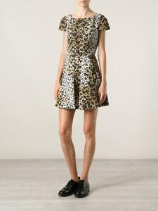 cherrie424: Red VALENTINO Leopard Print Dress
