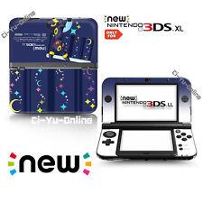 [new 3DS XL] Pokemon Eevee Evolutions #4 Umbreon  VINYL SKIN STICKER DECAL COVER