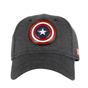 Marvel Captain America Baseball Cap with embroidered logo