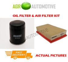 PETROL SERVICE KIT OIL AIR FILTER FOR NISSAN QASHQAI 1.6 114 BHP 2006-14