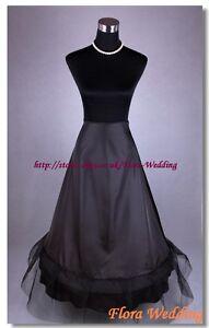 1-HOOP 1-NET WEDDING PETTICOAT/HOOPED CRINOLINE/UNDERSKIRT/FULL SKIRT/LONG SLIP