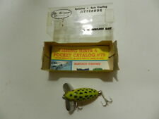 VINTAGE FISHING LURE- FRED ARBOGAST JITTERBUG- NEW OLD STOCK IN BOX