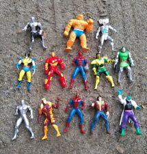 Marvel Figures DieCast Lot of 13 - Toybiz X-Men Heavy Metal Heroes Steel Mutants