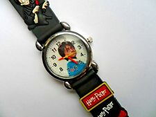 New Great Kids 3D  HARRY POTTER   Silicon // Jelly Watch Black  Strap