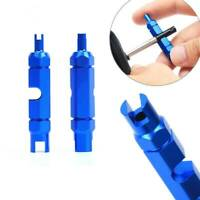 VALVE CORE REMOVER TOOL Presta Schrader MTB Mountain Bike Road Tubeless Cycle~