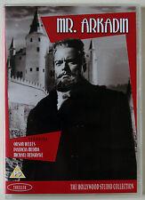 MR ARKADIN / CONFIDENTIAL REPORT / ORSON WELLES / 1955 CLASSIC / R0 PAL