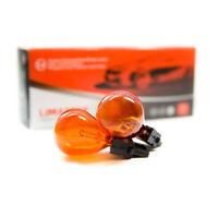 10 x  PY27W Auto Lampe W2.5x16d  Glühbirne 3156 Orange Gelb Amber 12V