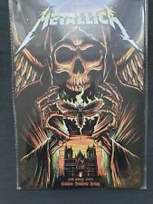 More details for metallica metal sign plaque american heavy metal posters
