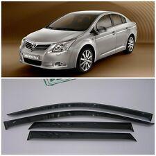 For Toyota Avensis Sd 2009-2018 Side Window Visors Rain Guard Vent Deflectors