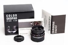 Voigtländer Color-Skopar 4/21mm P-Type VM f. Leitz / Leica
