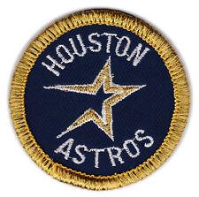 """1994-99 HOUSTON ASTROS MLB BASEBALL 2"""" ROUND TEAM LOGO PATCH"""