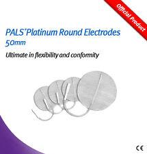 PALS Platino Redondo Electrodos 50mm con Multistick Gel-Paquete de 4