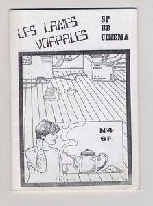 (162B) Les lames vorpales N°4 SF BD Cinéma