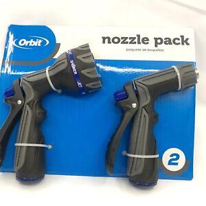 Orbit High Flow Watering Hose Nozzle (2-Pack)