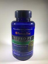 Puritan's Pride Neuro-PS (Phosphatidylserine) 100 mg - 60 Softgels