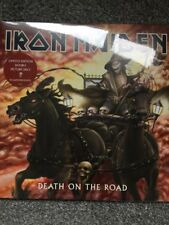 IRON MAIDEN 'DEATH ON THE ROAD' 2 x PICTURE DISC VINYL LP - NEW & SEALED