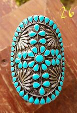 Cowgirl Gypsy Bling aztec Western Cuff Bracelet turquoise Southwest