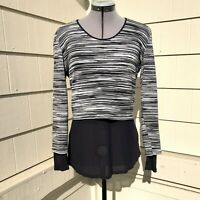 Missoni Cotton Blend Jersey layered Top Size 42