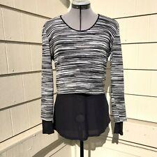Missoni Cotton Blend Jersey layered Top Size 42