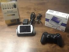 PSP GO Video Game Console - 6.61infinity firmware - white W/ Box -games included