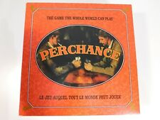 Perchance Board Game Lottery Card/Poker Style Game EXCELLENT!