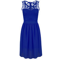 Women's Ladies Evening Dresses Formal Club Party Sleeveless Dress Tops Plus Size