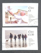 Ireland 2018-World Meeting of Families-Dublin-Pope Francis set f.used