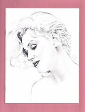 MARILYN MONROE 1992 MEMORIAL SERVICE BOOKLET PROGRAM - (signed by 11 guests)