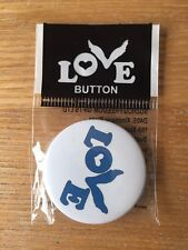 Coldplay Love Badge / Button A Head Full Of Dreams Tour Chris Martin Wembley
