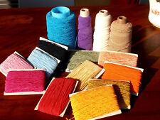 Filo vergolina-uncinetto o maglia-cotone/viscosa-50 mt. 2 Euro Tanti colori