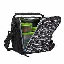 Portable Lunch Box Bag Hot Cold Insulated Thermal Cooler Travel Food Picnic