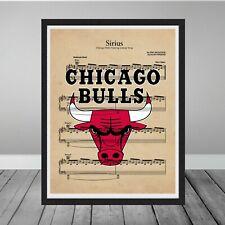 Framed Chicago Bulls Sirius Alan Parsons Project Gift Last Dance Michael Jordan