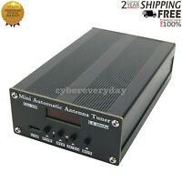 ATU-100 1.8-50MHz Automatic Antenna Tuner by N7DDC Type C + 0.91Inch OLED + Case