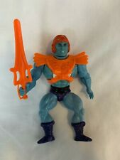 VINTAGE Faker COMPLETE He-Man MOTU 1983 WITH Chest Sticker SOFT HEAD