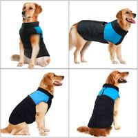 Various Waterproof Dog Clothes Autumn Winter Warm Padded Pet Coat Vest Jacket ·