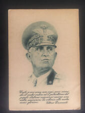 Mint Italy WW2 Field Post postcard Army Military Emperor Emanuele