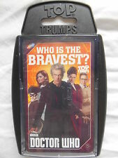 TOP TRUMPS BBC DOCTOR WHO 2016 CARD GAME BRAND NEW
