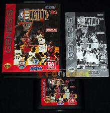 NBA ACTION '94 Megadrive Md Mega Drive Versione Americana NTSC ••••• COMPLETO